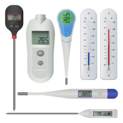 thermometer typen
